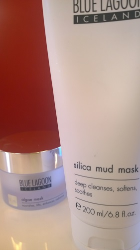 Blue Lagoon Silica and Algae masks