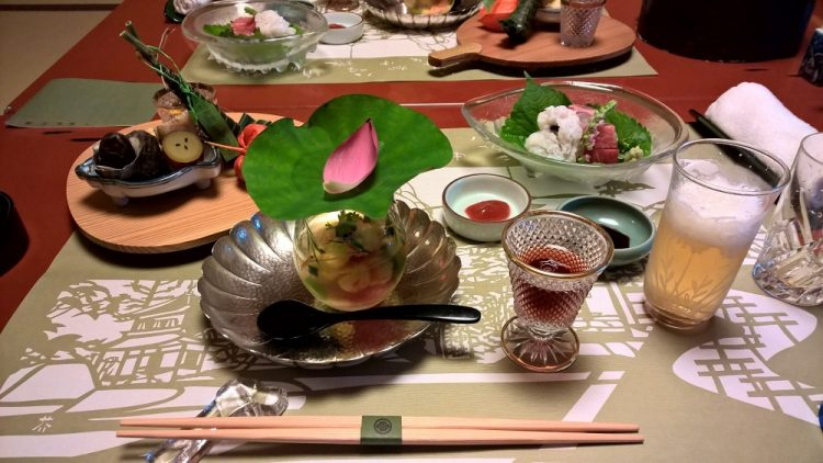 Gion Hatanaka Ryokan Dinner