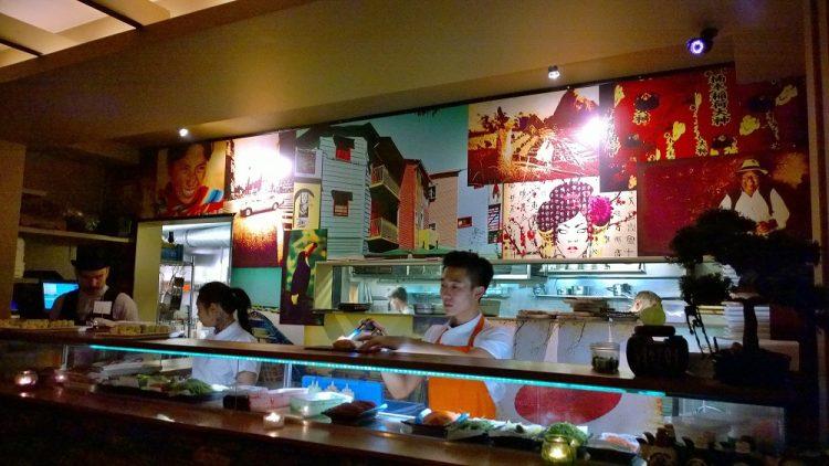 Sushi Samba Counter