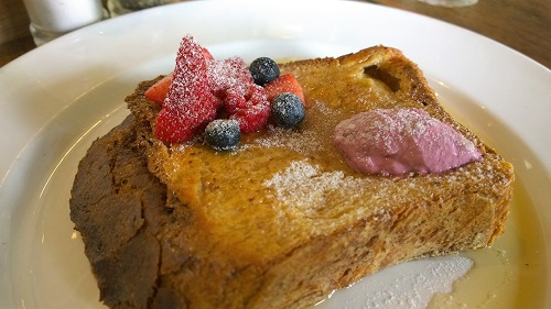 Cafe Melba French toast