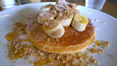 Cafe Melba pancakes