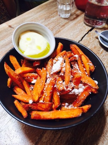 Curious Palette Sweet Potato Fries