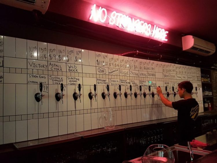 Freehouse Beer on Tap
