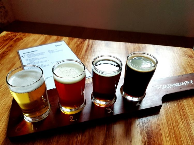 Freehouse Tasting Paddle