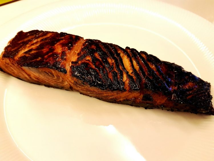 Honey Teriyaki Salmon Whole