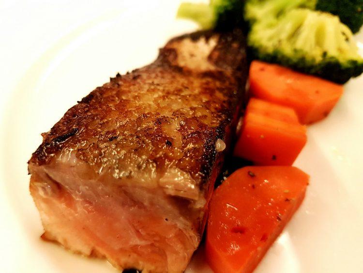 recipe: orange honey teriyaki salmon [27]