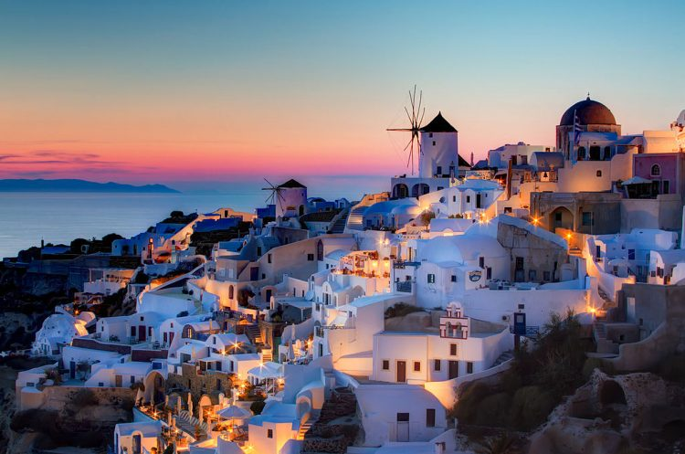 Santorini After Sunset