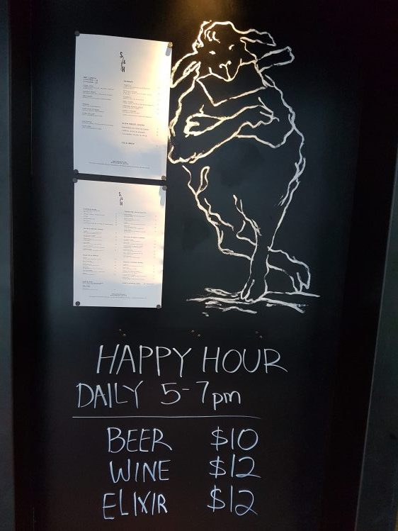 Salted & Hung Happy Hour