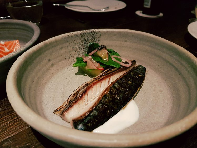 Salted & Hung Mackerel