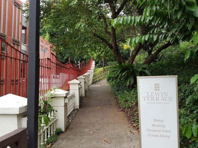 Lewin Terrace Entrance