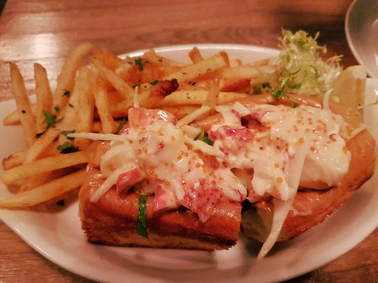 Humpback Lobster Roll