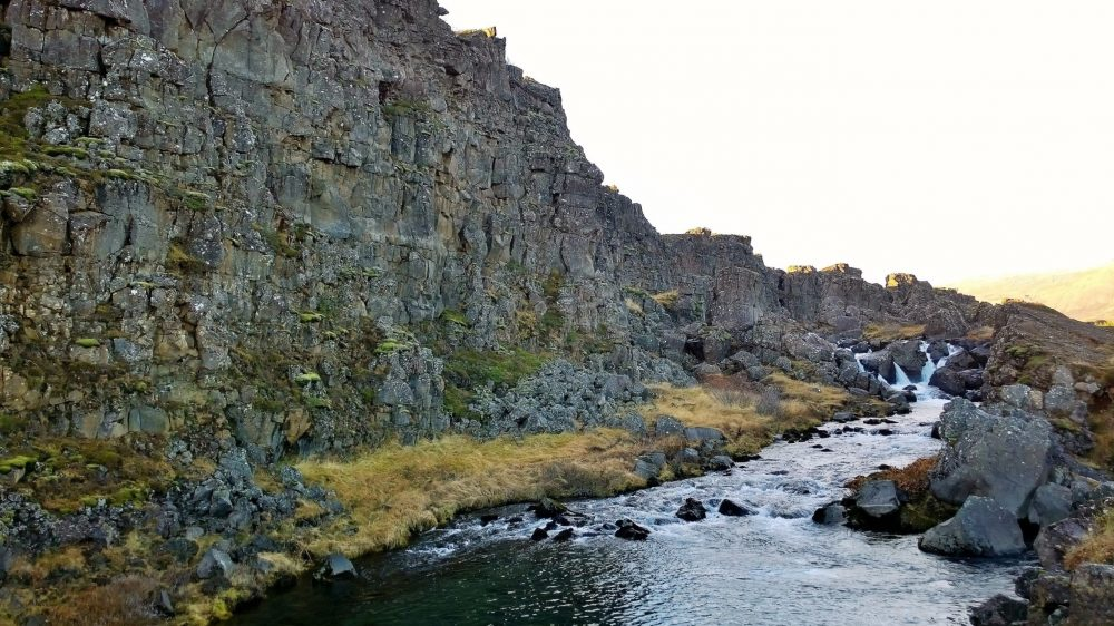 Iceland Thingvellir Almannagja