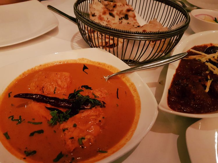 The Song of India Malabar Fish Curry