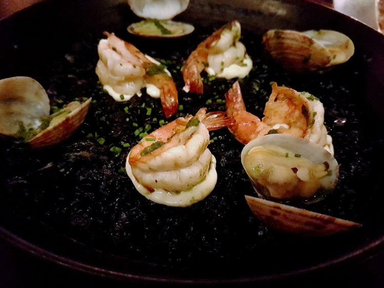 FOC Squid Ink Paella