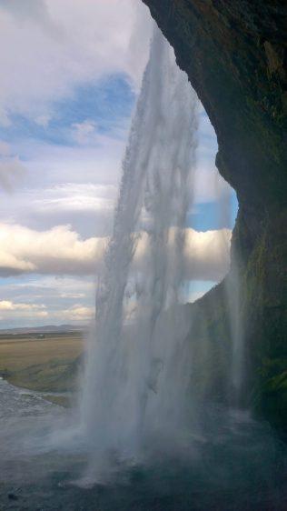 Iceland Seljalandfoss waterfall