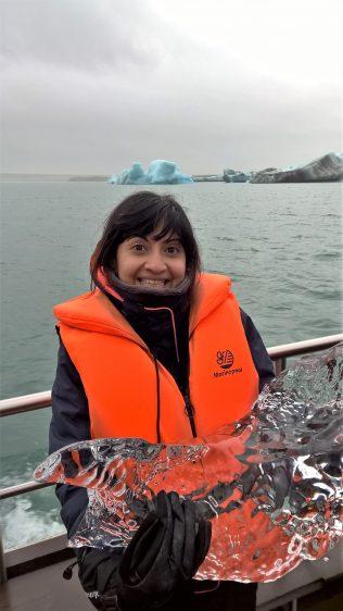 Iceland Jokulsarlon Huge Iceblock