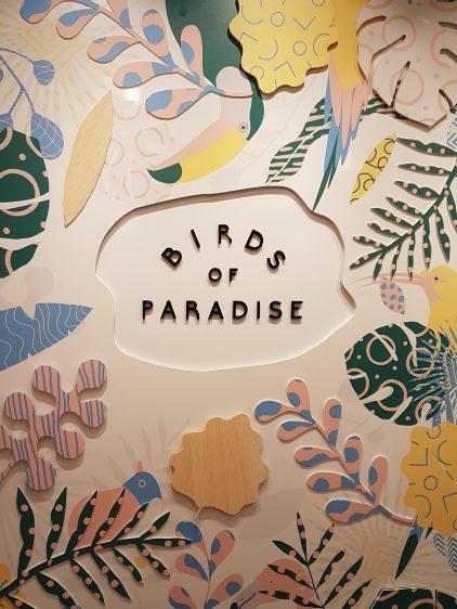 Birds of Paradise board