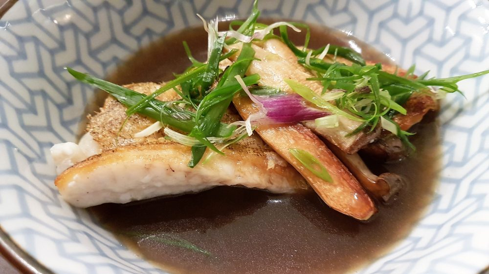Nude Seafood Grouper in duck broth