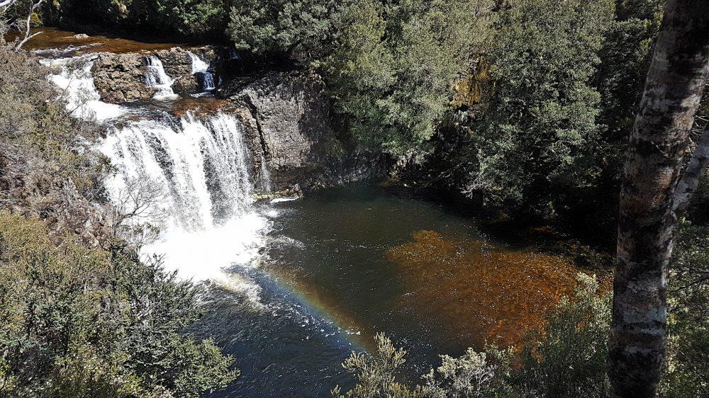 Tasmania Cradle Mountain Waterfall