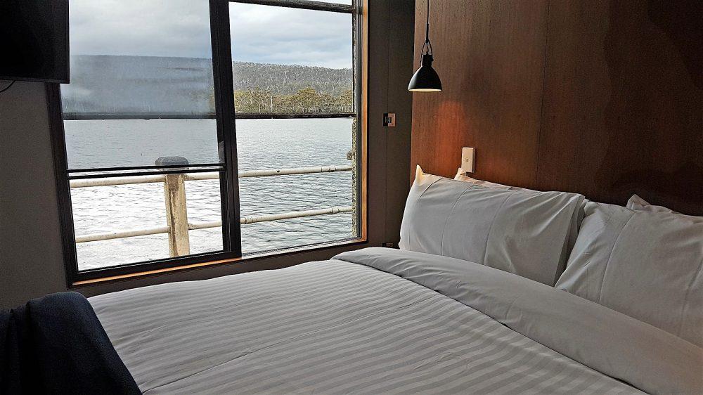 Tasmania Pumphouse Point bedroom