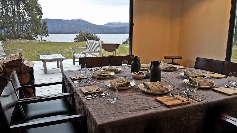 Tasmania Pumphouse dining area