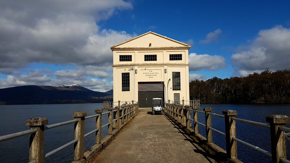 Tasmania Pumphouse Point view from front