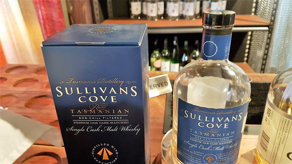 Hobart Sullivans Cove Whiskey