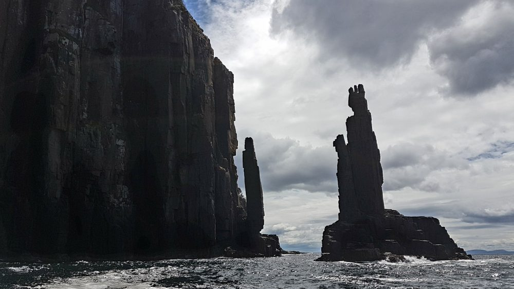 Tasmania Sea Stacks Tasman Sea