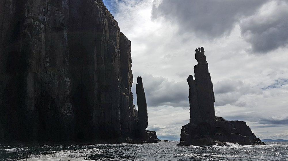 Tasmania Sea Stacks Tasman Sea
