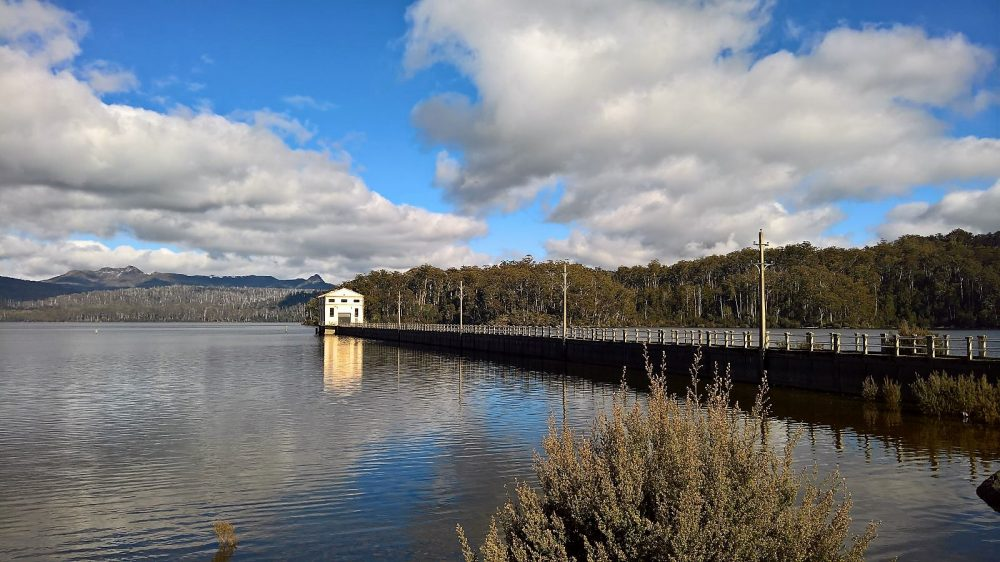 Tasmania Pumphouse Point View Across