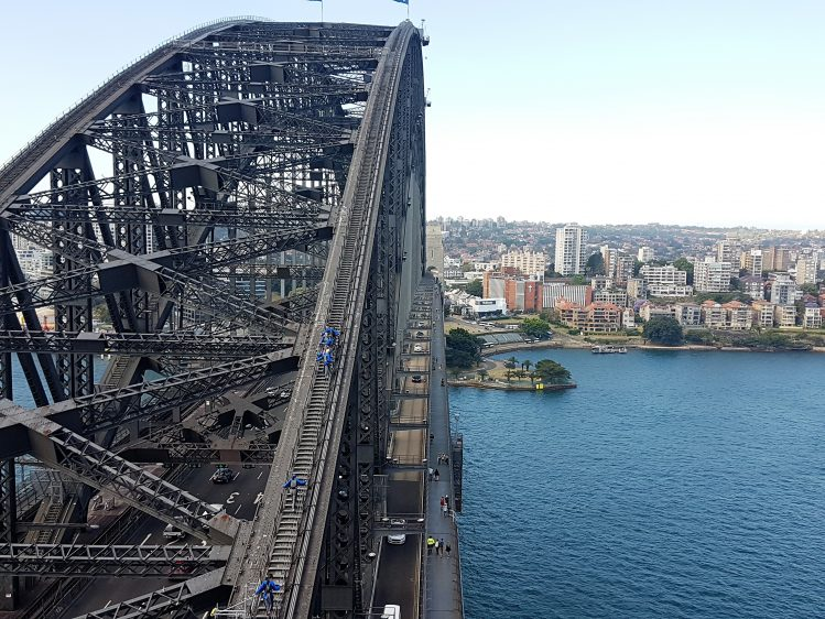 Sydney Bridge Climb Pylon View