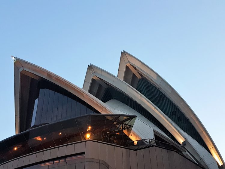 Sydney Opera house art shot