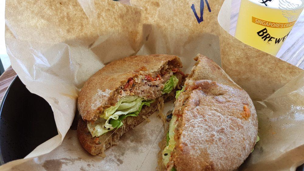 Wildseed Pork sandwich