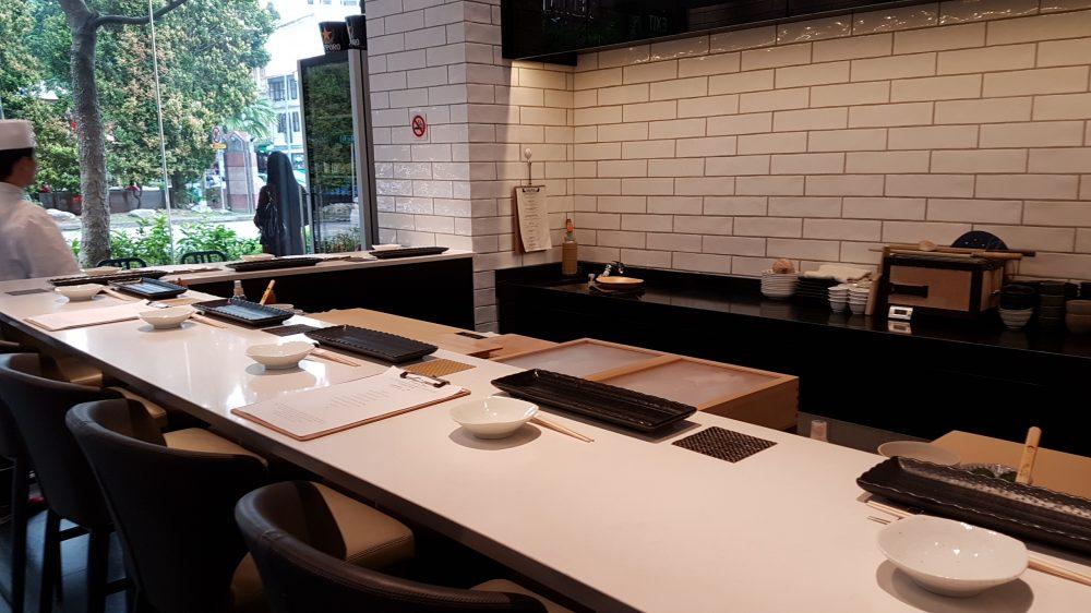 Ryo Sushi interior