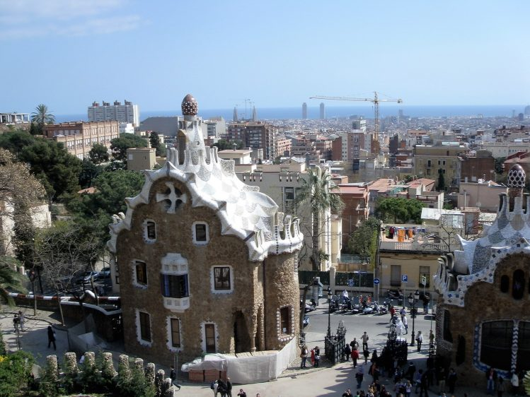 Barcelona Parc Guell 1