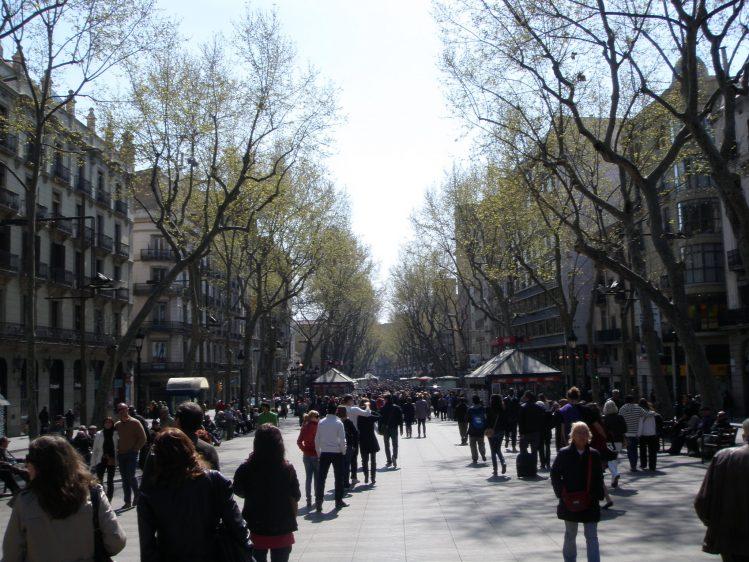 Barcelona La Ramblas