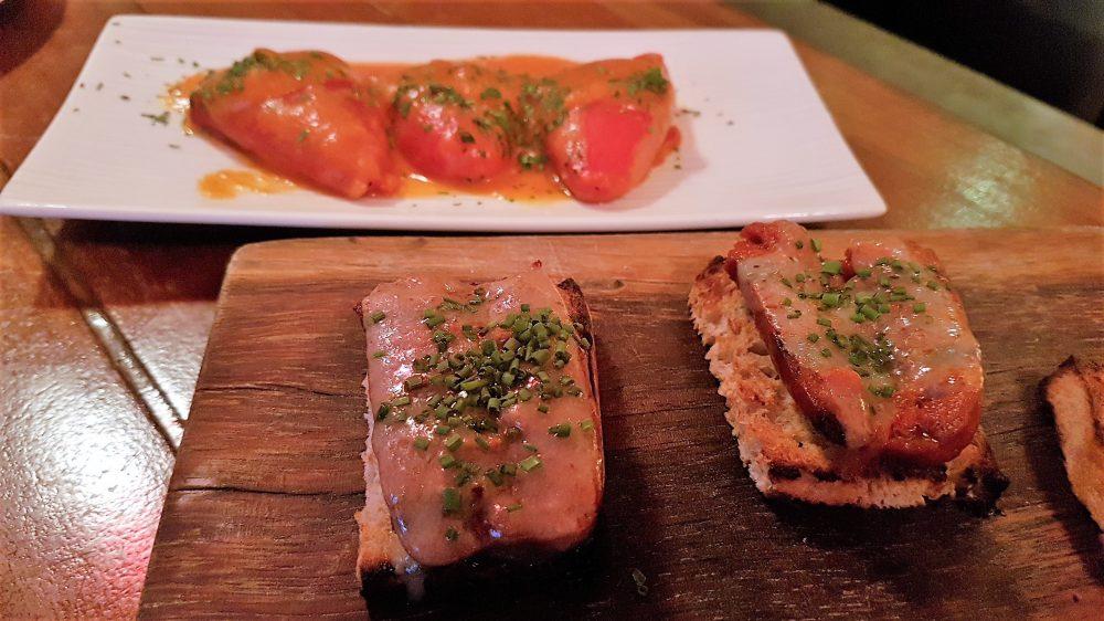 Binomio Peppers and Chorizo