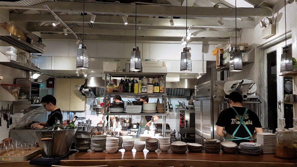 Morsels Kitchen view