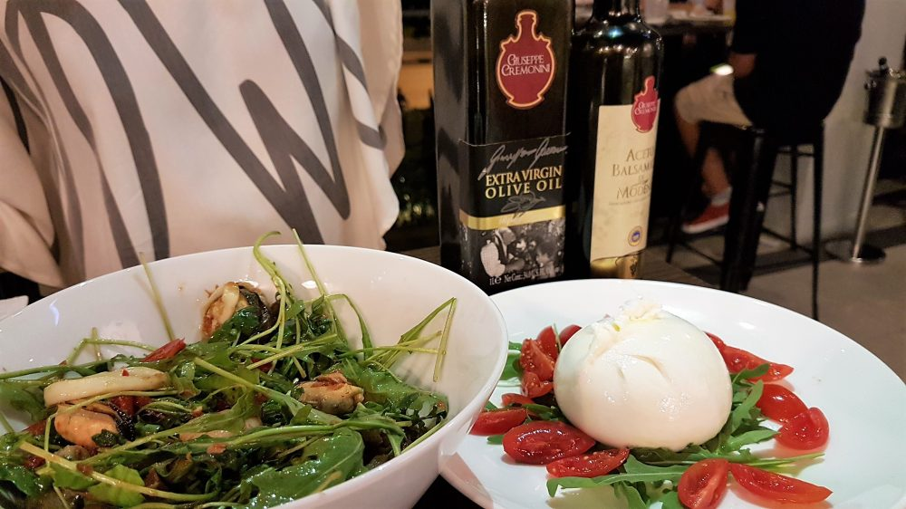 Cibo Italiano Salad and Burrata