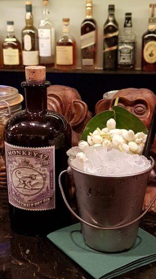 Flying Monkey gin drink