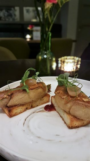 The Disgruntled Brasserie Foie Gras