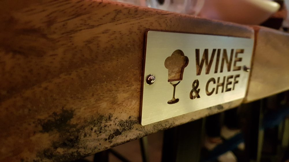 Wine & Chef logo