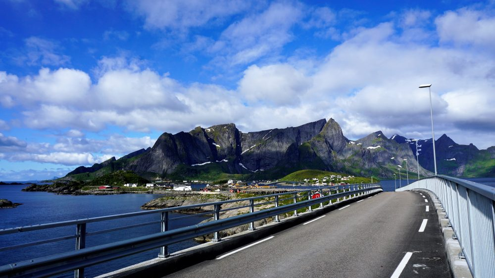 The Lofoten Islands Norway - Bridge across Lofoten