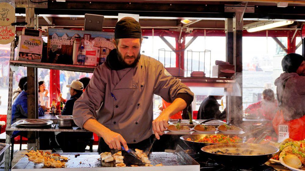 Bergen Fishmarket cook