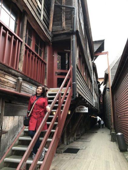 Bergen Bryggen Stairs
