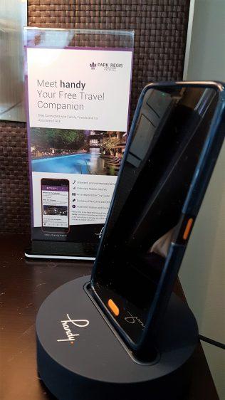 Park Regis Workation Handy Phone