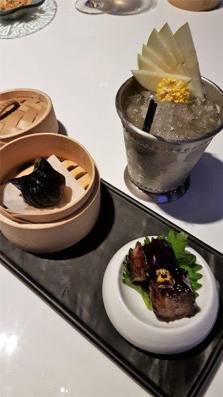 Mitzo Shen Tan Dumpling and Espresso Pork