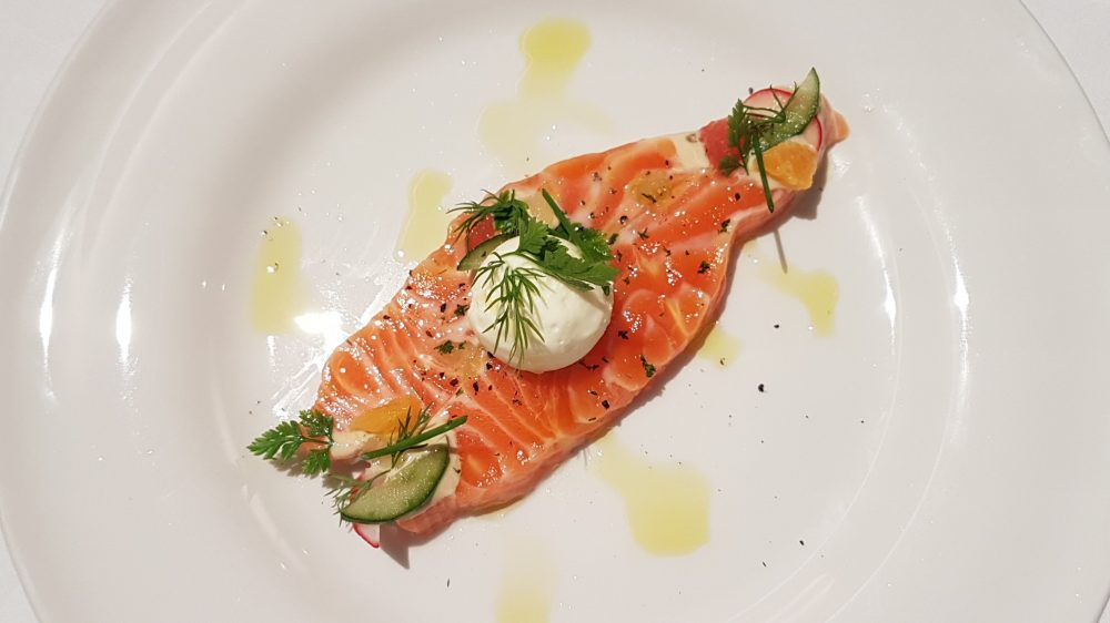 Tablescape Salmon Gravlax 2