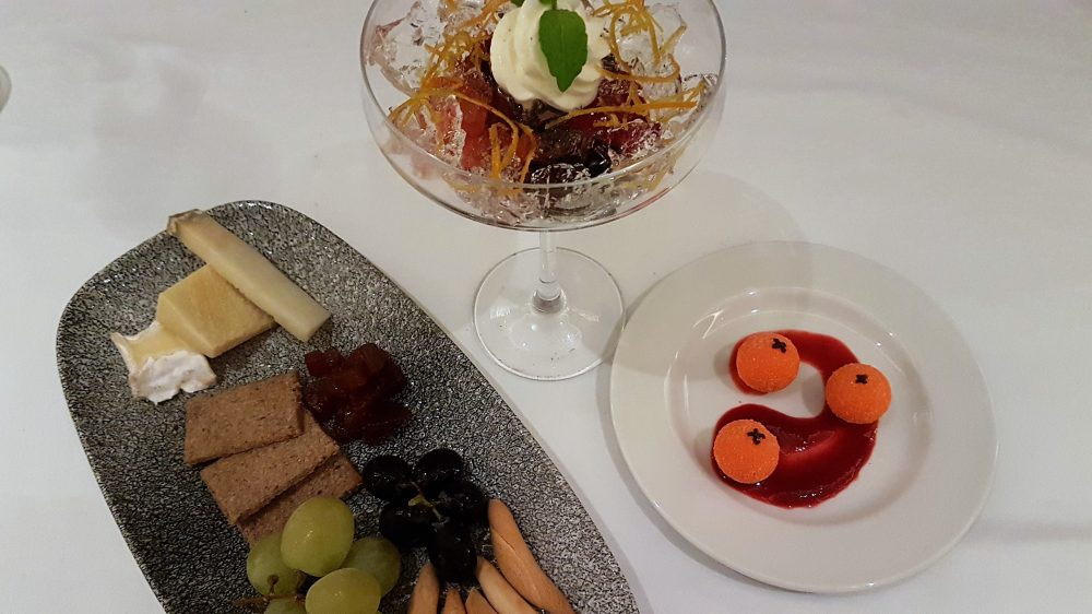 Tablescape Dessert and Cheese