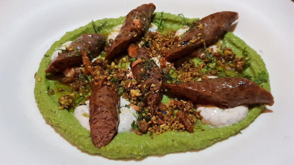 The Butcher's Wife Lamb sausages